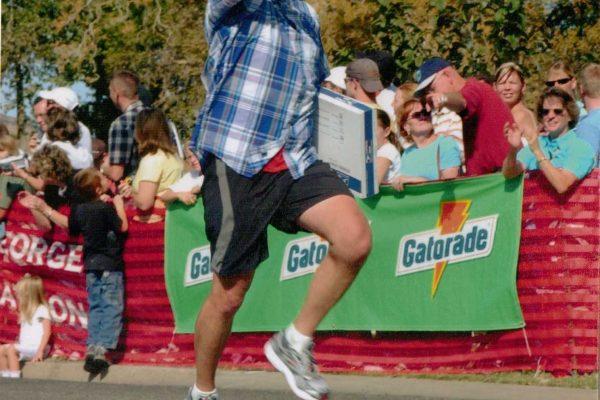 2004 - St. George Marathon - Run Forrest Run