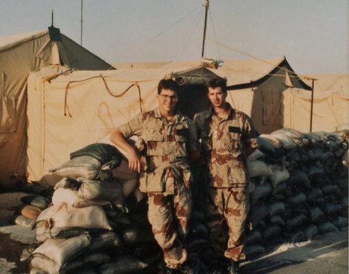 1991 - David and Eric Desert Storm
