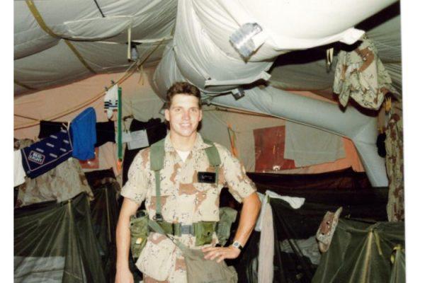 1990 - Desert Storm - Still Smiling