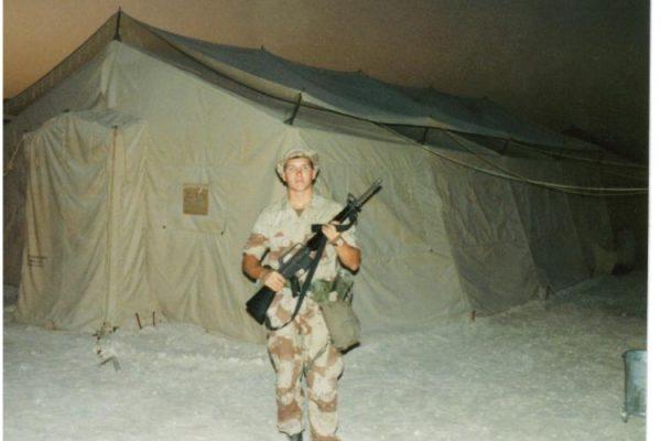 1990 - Guard Duty - Desert Storm