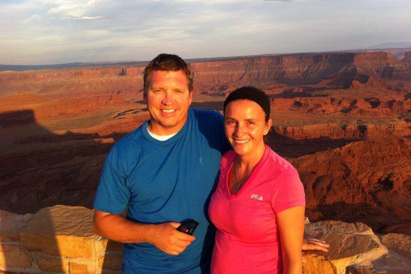 2013 - David & Terri - Dead Horse Point Moab UT