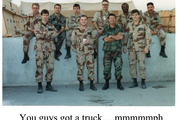 1991 - Desert Storm Avionics Team