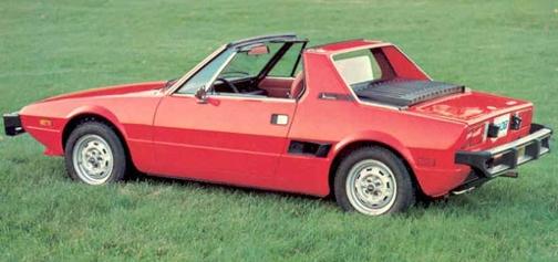 1974 Fiat X 1/9 - High School Car